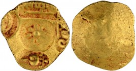 Gold Padma Tanka Coin of Singhana Deva of Yadavas of Devagiri.