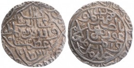 Silver Tanka Coin of Ghiyath ud din Azam of Hadrat Firuzabad Mint of Bengal Sultanate.
