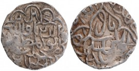 Silver Tanka Coin of Jalal ud din Muhammad of Firuzabad Mint of Bengal Sultanate.