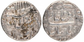 Silver Rupee Coin of ShahJahan of Daulatabad Mint.