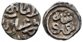 India. Delhi Sultanate. Fals. 720-725 H. (Mitchiner-2585). Ag. 3,58 g. VF. Est...25,00.