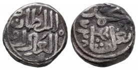 India. Madura Sultanate. Mohammed III ibn Tughluq. 1/3 tankah. 728 H (1327). (Mitchiner-2808). 3,56 g. Almost VF. Est...25,00.