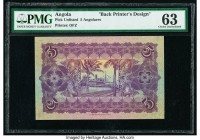 Angola 5 Angolares Pick UNL Back Printer's Design PMG Choice Uncirculated 63. Previously mounted.  HID09801242017  © 2020 Heritage Auctions | All Righ...