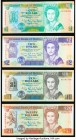 Belize Central Bank of Belize Group Lot of 4 Examples Crisp Uncirculated.   HID09801242017  © 2020 Heritage Auctions | All Rights Reserved