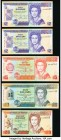 Belize Central Bank Group Lot of 5 Examples Choice About Uncirculated.   HID09801242017  © 2020 Heritage Auctions | All Rights Reserved
