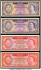 Belize Government of Belize Group Lot of 4 Examples Fine-Very Fine.   HID09801242017  © 2020 Heritage Auctions | All Rights Reserved