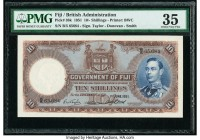 Fiji Government of Fiji 10 Shillings 1.6.1951 Pick 38k PMG Choice Very Fine 35.   HID09801242017  © 2020 Heritage Auctions | All Rights Reserved