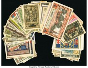 Germany Notgeld Group Lot of 161 Very Good-Crisp Uncirculated.   HID09801242017  © 2020 Heritage Auctions | All Rights Reserved