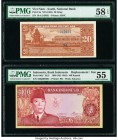 Indonesia Bank Indonesia 100 Rupiah 1960 (ND 1964) Pick 86a* RL5 Replacement PMG About Uncirculated 55; South Vietnam National Bank 20 Dong ND (1962) ...
