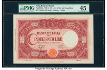 Italy Banca d'Italia 500 Lire 17.8.1944 Pick 70a PMG Choice Extremely Fine 45.   HID09801242017  © 2020 Heritage Auctions | All Rights Reserved