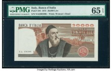 Italy Banca d'Italia 20,000 Lire 21.2.1975 Pick 104 PMG Gem Uncirculated 65 EPQ.   HID09801242017  © 2020 Heritage Auctions | All Rights Reserved