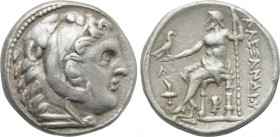KINGS OF MACEDON. Alexander III 'the Great' (336-323 BC). Tetradrachm. Amphipolis (or possible contemporary imitation).