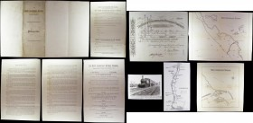 Great Britain, The North Sunderland Railway Company a small collection including original company prospectus, Share Certificate for 3 shares to John R...