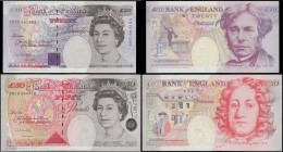 Bank of England Kentfield Special prefix YR19 issues 1999 (2) both UNC in the original plastic holders comprising a 20 Pounds Michael Faraday B375 ser...