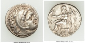 MACEDONIAN KINGDOM. Alexander III the Great (336-323 BC). AR drachm (18mm, 4.09 gm, 11h). XF. Posthumous issue of 'Colophon', 310-301 BC. Head of Hera...