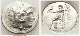 PERGAMENE KINGDOM. Attalus I (ca. 241-197 BC). AR tetradrachm (31mm, 17.17 gm, 12h). AU. Pergamum, in the name and types of Alexander III the Great of...