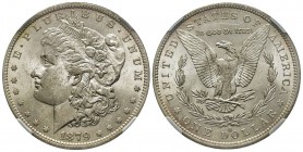 Morgan Dollar, New Orleans, 1879 O, AG Conservation : NGC MS62