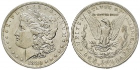 Morgan Dollar, Philadelphia, 1880, AG Conservation : FDC