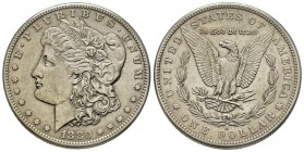 Morgan Dollar, San Francisco, 1880 S, AG Conservation : Superbe
