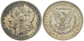 Morgan Dollar, San Francisco, 1880 S, AG Conservation : PCGS MS63