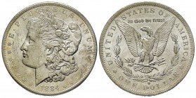 Morgan Dollar, New Orleans, 1884 O, AG Conservation : FDC