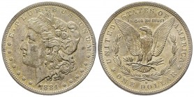 Morgan Dollar, New Orleans, 1884 O, AG Conservation : Superbe