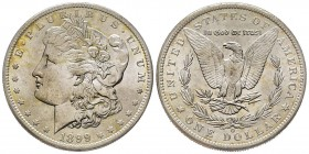 Morgan Dollar, New Orleans, 1899 O, AG Conservation : FDC