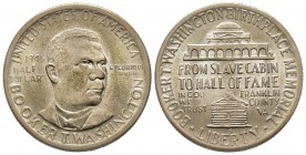 Half Dollar 1946, San Francisco, Booker T. Washington Birthplace Memorial, AG 12.5 g. Conservation : presque FDC