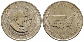 Half Dollar 1952, Philadelphia, Carver/Washington 1951-1954, AG 12.5 g. Conservation : Superbe