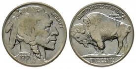 5 Cents, 1937, Philadelphia, Buffalo Nickel, Ni Conservation : FDC