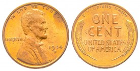 1 Cent, 1944, Lincoln, AE 3.11 g. Conservation : FDC