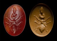 A roman carnelian intaglio. Ant. 