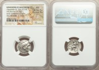 MACEDONIAN KINGDOM. Alexander III the Great (336-323 BC). AR drachm (17mm, 4.25 gm, 12h). NGC AU 5/5 - 4/5. Posthumous issue of Magnesia ad Maeandrum,...