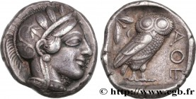 ATTICA - ATHENS Type : Tétradrachme  Date : c. 430 AC.  Mint name / Town : Athènes  Metal : silver  Diameter : 24  mm Orientation dies : 9  h. Weight ...