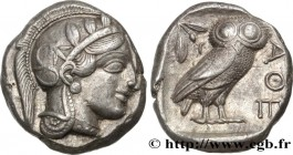 ATTICA - ATHENS Type : Tétradrachme  Date : c. 430 AC.  Mint name / Town : Athènes  Metal : silver  Diameter : 24  mm Orientation dies : 1  h. Weight ...