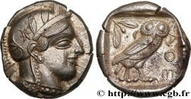 ATTICA - ATHENS Type : Tétradrachme  Date : c. 420 AC.  Mint name / Town : Athènes  Metal : silver  Diameter : 25,5  mm Orientation dies : 1  h. Weigh...