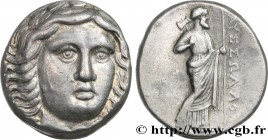 CARIA - SATRAPS OF CARIA - MAUSOLUS Type : Tétradrachme  Date : c. 350 AC  Mint name / Town : Halicarnasse  Metal : silver  Diameter : 23  mm Orientat...