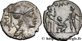 VETURIA Type : Denier  Date : 137 AC.  Mint name / Town : Rome  Metal : silver  Millesimal fineness : 950  ‰ Diameter : 20,5  mm Orientation dies : 9 ...