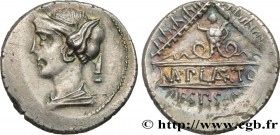PLAETORIA Type : Denier  Date : 69 AC.  Mint name / Town : Rome  Metal : silver  Millesimal fineness : 950  ‰ Diameter : 19,5  mm Orientation dies : 1...