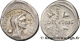 JULIUS CAESAR Type : Denier  Date : avril  Date : 44 AC.  Mint name / Town : Rome  Metal : silver  Millesimal fineness : 950  ‰ Diameter : 20  mm Orie...