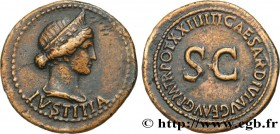 LIVIA Type : Dupondius  Date : 22-23  Mint name / Town : Rome  Metal : copper  Diameter : 31  mm Orientation dies : 6  h. Weight : 14,25  g. Rarity : ...