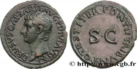 DRUSUS Type : As  Date : 23  Mint name / Town : Rome  Metal : copper  Diameter : 29,5  mm Orientation dies : 6  h. Weight : 11,10  g. Rarity : R1  Obv...
