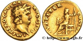 NERO Type : Aureus  Date : 66-67  Mint name / Town : Rome  Metal : gold  Millesimal fineness : 1000  ‰ Diameter : 19  mm Orientation dies : 6  h. Weig...