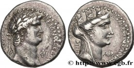 NERO Type : Tétradrachme  Date : an 111  Mint name / Town : Laodicée ad Mare, Syrie  Metal : silver  Diameter : 24,5  mm Orientation dies : 12  h. Wei...