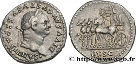 DIVUS VESPASIAN Type : Denier  Date : 79  Mint name / Town : Rome  Metal : silver  Millesimal fineness : 900  ‰ Diameter : 20  mm Orientation dies : 6...
