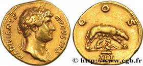HADRIAN Type : Aureus  Date : 128  Mint name / Town : Rome  Metal : gold  Millesimal fineness : 1000  ‰ Diameter : 19,5  mm Orientation dies : 7  h. W...