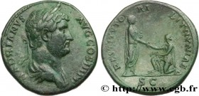 HADRIAN Type : Sesterce  Date : 136  Mint name / Town : Rome  Metal : copper  Diameter : 32,5  mm Orientation dies : 6  h. Weight : 23,72  g. Rarity :...
