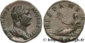 HADRIAN Type : Moyen bronze, dupondius  Date : 136  Mint name / Town : Rome  Metal : bronze  Diameter : 26  mm Orientation dies : 1  h. Weight : 13,68...