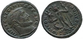 Licinius I. AD 308-324. Æ Follis (2,5). Siscia mint, 1st officina. Struck AD 313.