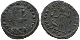 Licinius I (308-324). Æ Follis (22mm, 3.1.g). Siscia, 313-5.